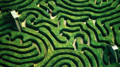 World's Most Giant Mazes