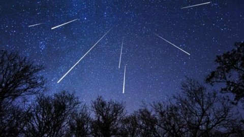 Pluies d'étoiles filantes !
