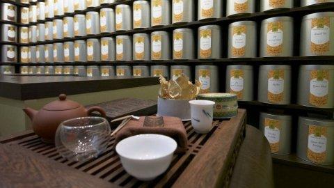 Magasins de thé/café