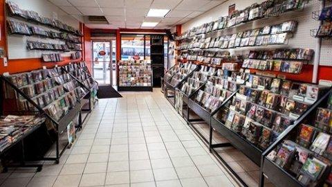 Magasins de disques